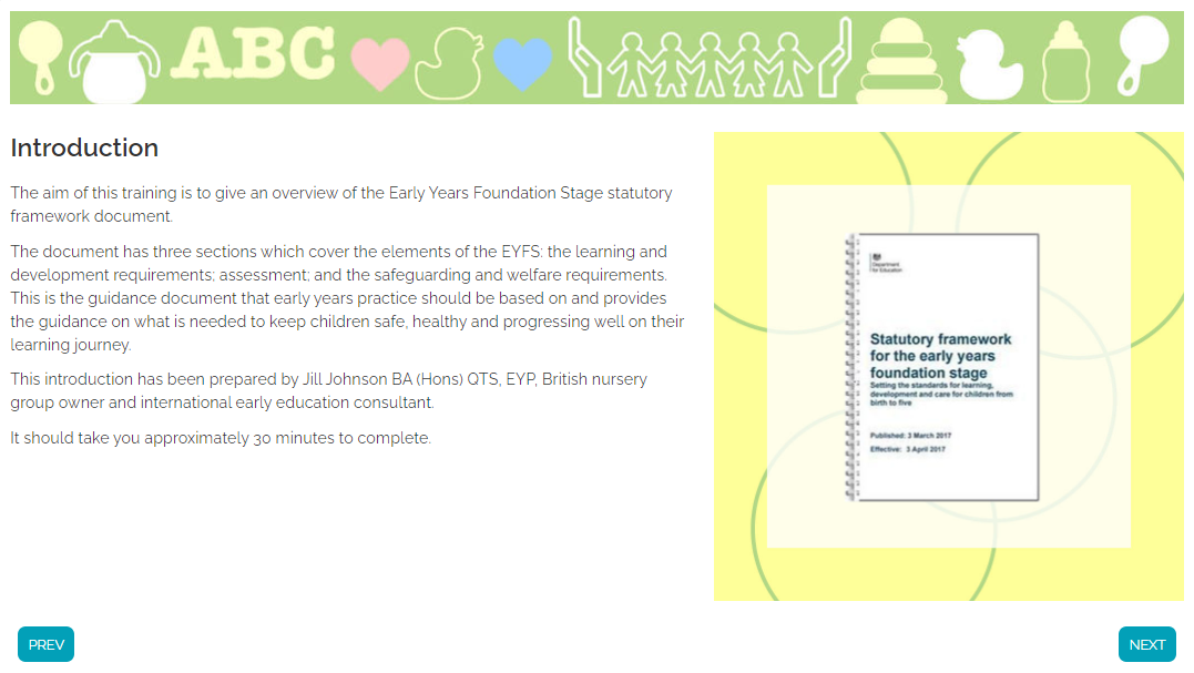 Screengrab+ +eyfs